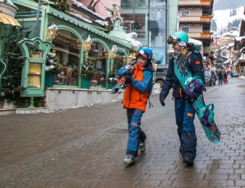 Alpeilla lasten kanssa